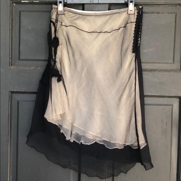 Max Studio Silk Skirt